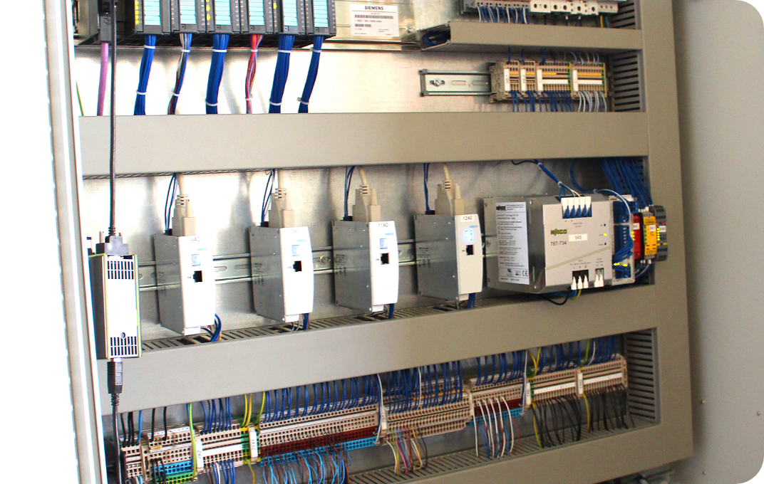 Brauner Elektrotechnik Industrieinstallation
